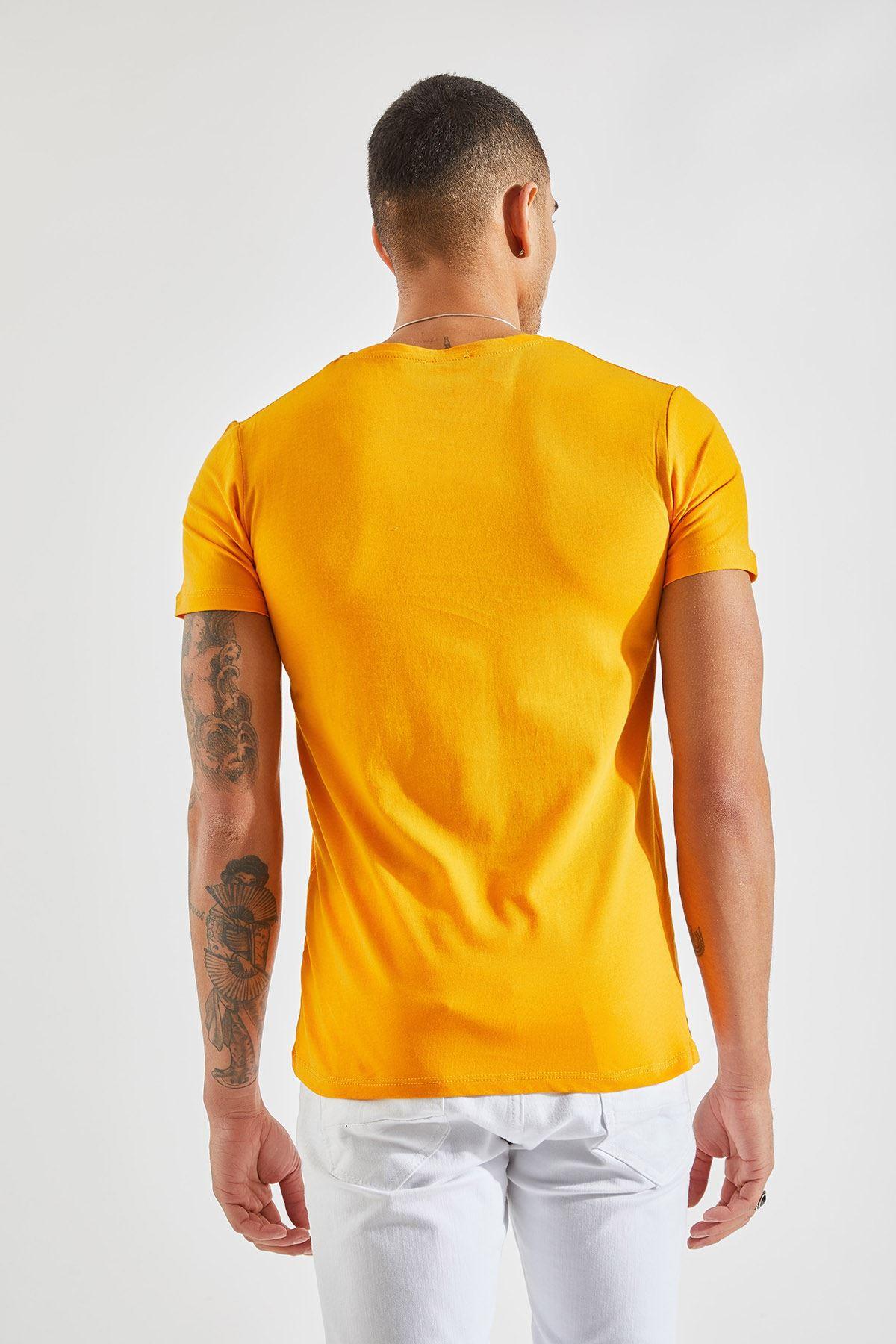 V Yaka Bay Hardal T-Shirt
