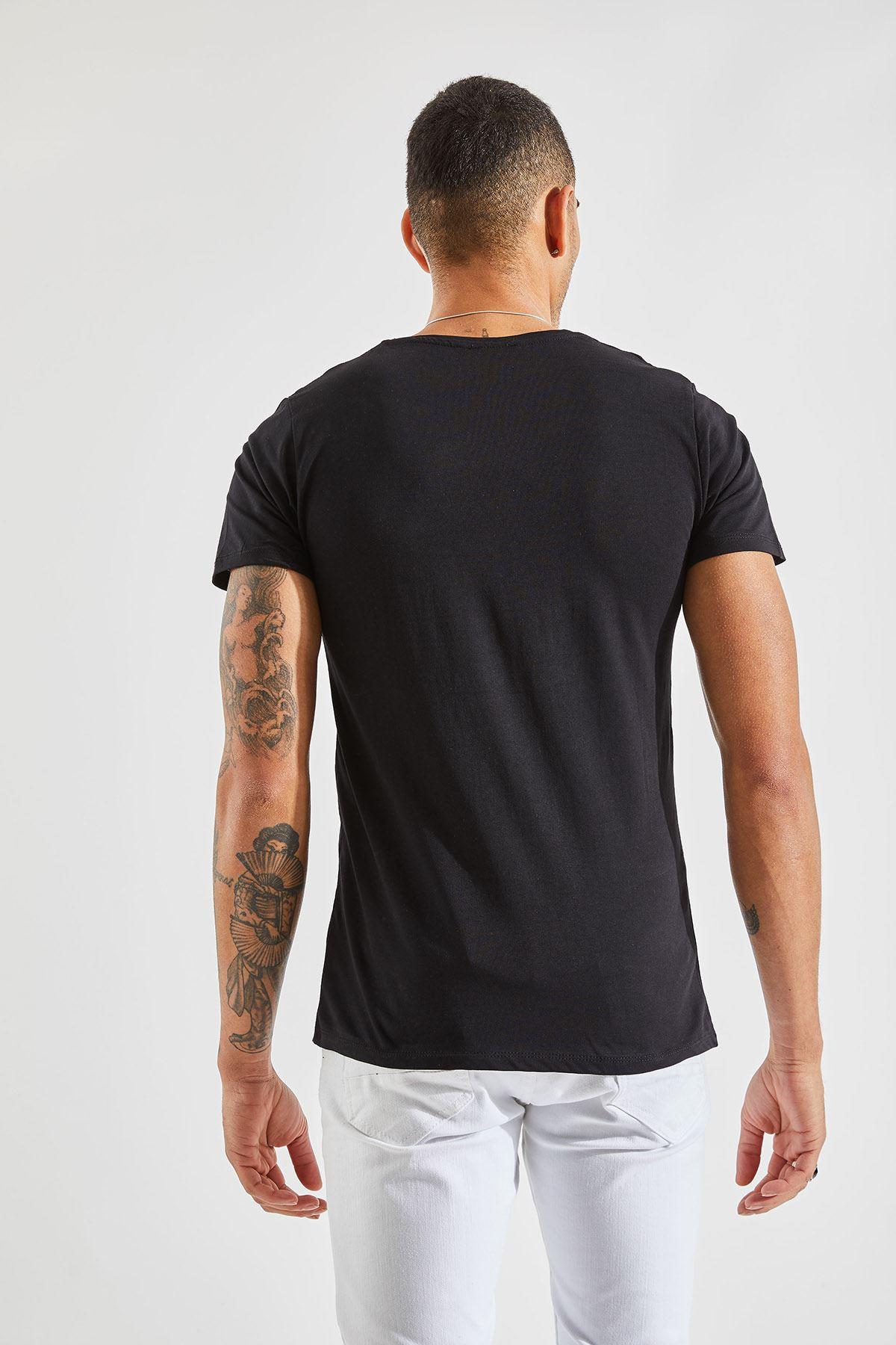 Bisiklet Yaka Bay T-Shirt