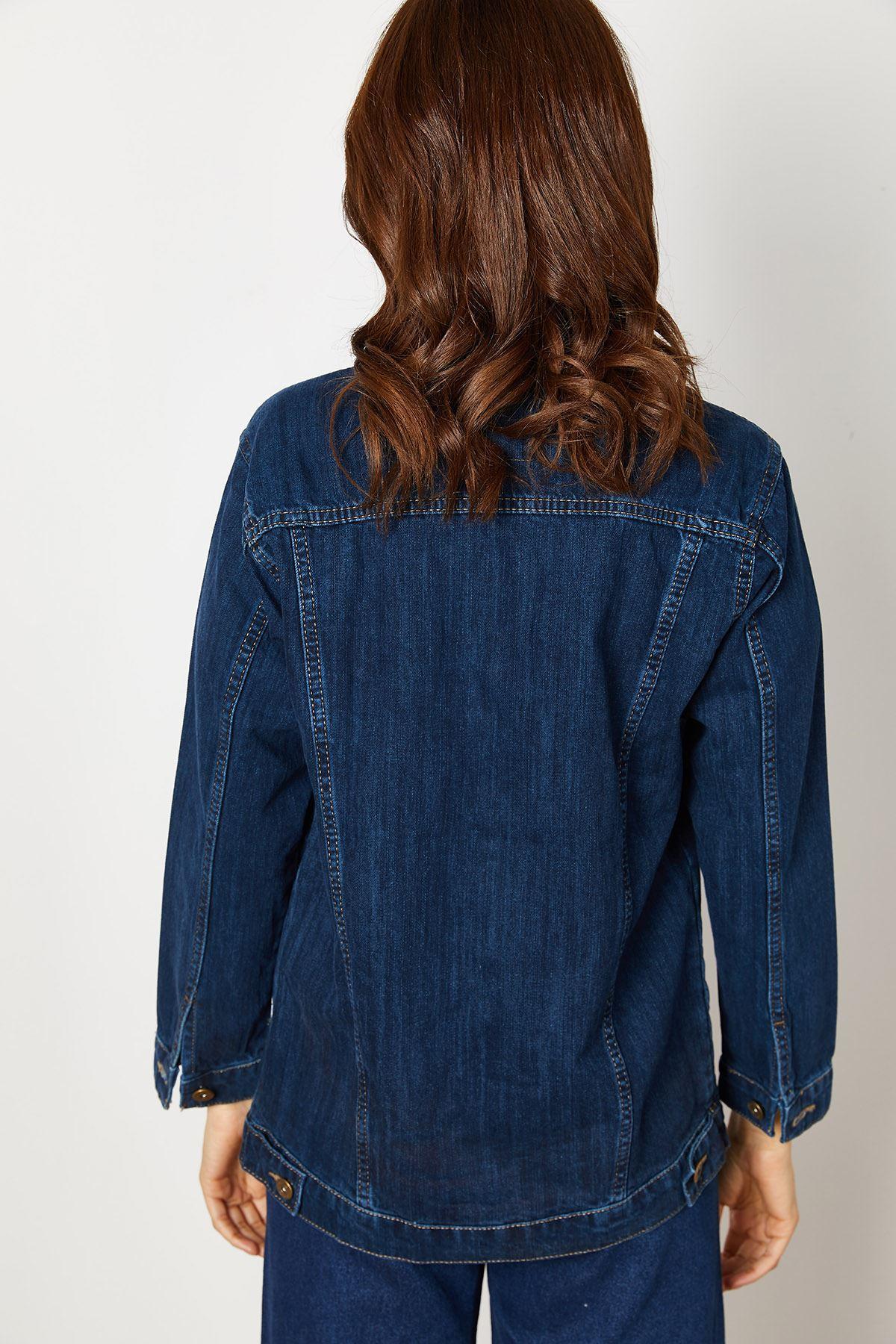 Kadın Kot Ceket