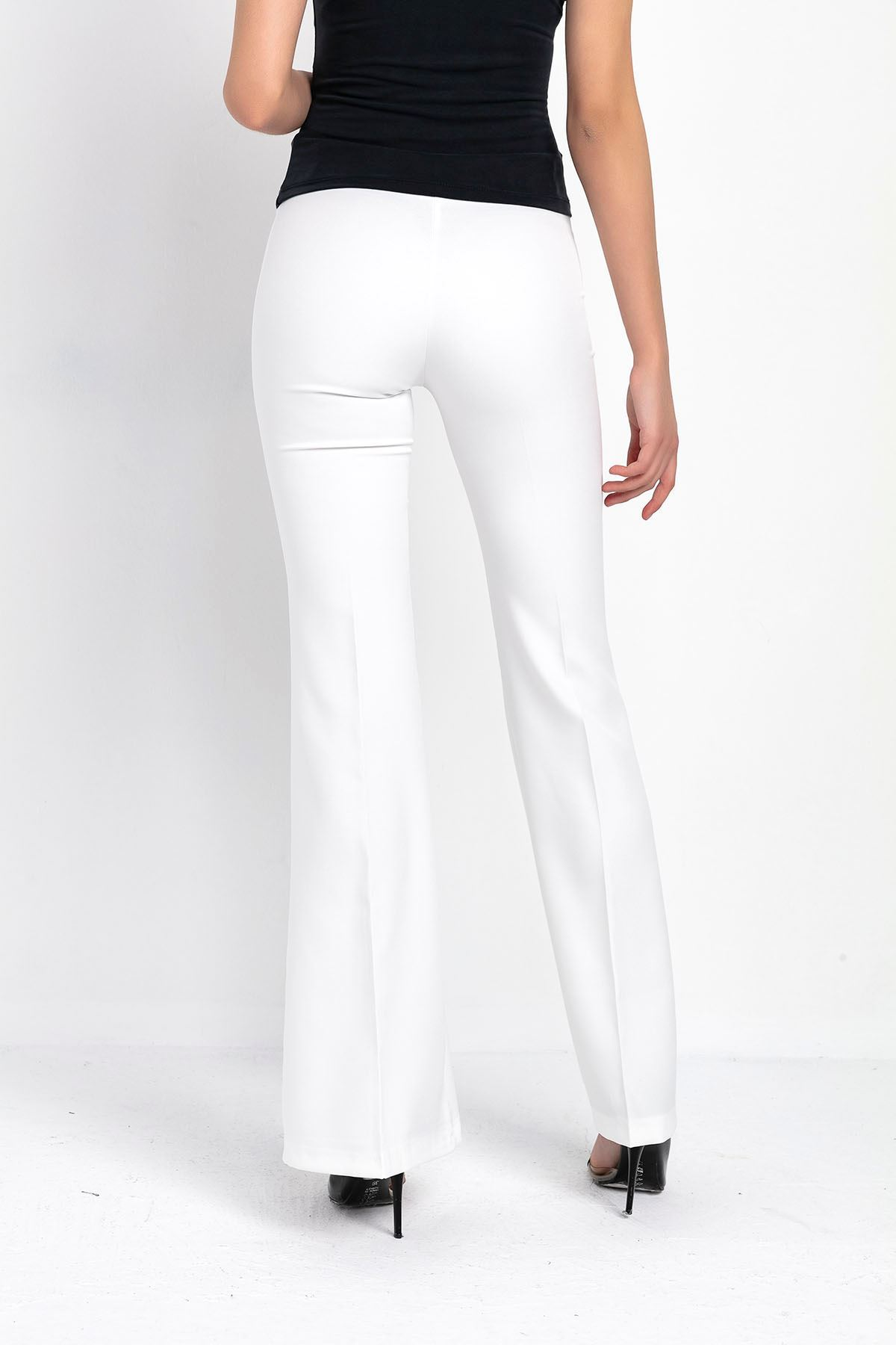 İspanyol Paça Kumaş Pantolon