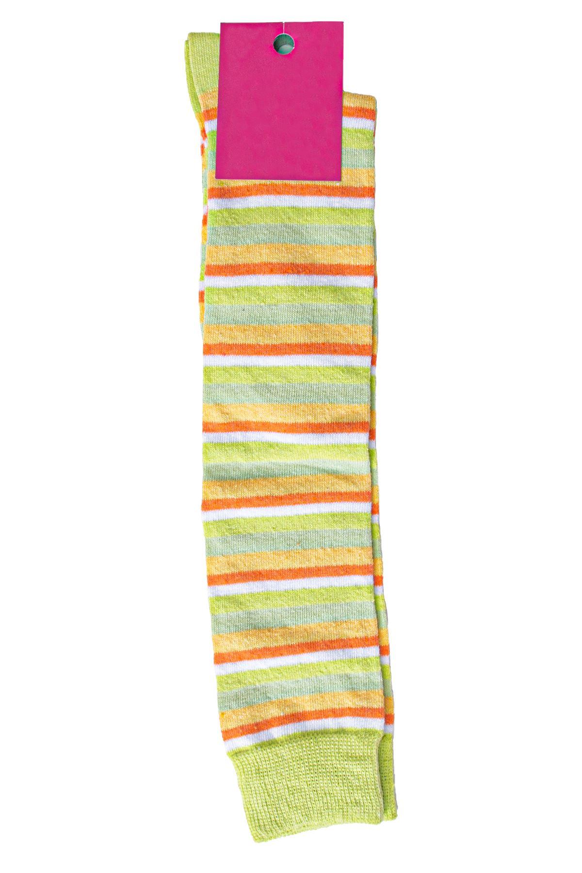 Kadın Uzun Çizgili Çorap