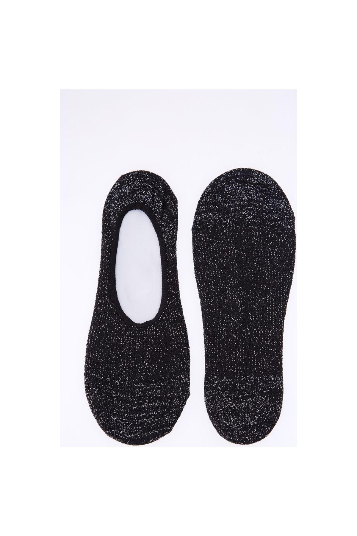 Kadın Simli Babet Çorap